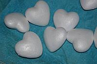 Сердце пенопласт 9см
