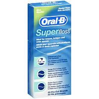 Зубна нитка Орал Бі 50м Super (5010622008204)