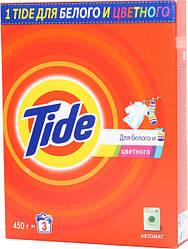 Порошок Тайд автомат 400г Для білих та кольорових речей (8001090157911)