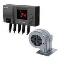 Регулятор для управления насосом центр. отоления вентилятором  PC16 F