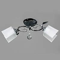 Люстра потолочная на 2 лампочки (хром) P3-56465/2C/CR+WT