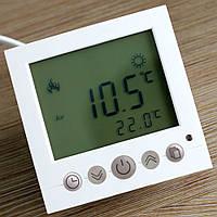 Терморегулятор (программатор) для теплого пола (комнатный термостат) Floureon C16 с 2-мя датчиками температуры