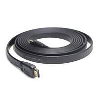 Кабель HDMI to HDMI 1.8m Cablexpert CC-HDMI4F-6 V.1.4, плоский, с позолоч. коннекторами, 1.8м