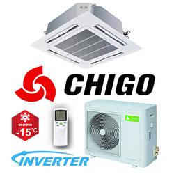 Кассетный кондиционер Chigo CCA-18HVR1/COU-18HDR1 Inverter