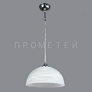 Подвес на одну лампочку CR (хром)  P3-2147/1P/CR