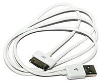 Кабель USB  iPhone 4, Extradigital, White, 1 м (KBD1650)