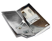 Кабель USB  iPhone 5, JCPAL, Silver, 1.5 м (JCP6108)