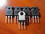 STGW45HF60WD / GW45HF60WD / 45HF60 TO-247 - 45A 600V ultra fast IGBT транзистор, фото 2