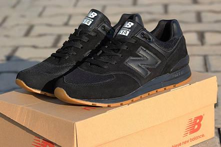 f99039a63a32 Мужские кроссовки New Balance 574 capen черные,сетка  продажа, цена ...