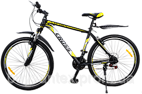 """Велосипед TM Cross Atlas 27"""" Титан бесплатная доставка"""