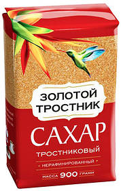 """Сахар Тростниковый 900г """"Золотой тростник"""" Мистраль"""