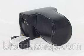 Защитный футляр - чехол для фотоаппаратов Fujifilm X-M1, X-M2, X-A1, X-A2, X-A3, X-A5, X-A20, X-A10 - черный