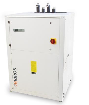 WDA-HP-080 - Охлаждаемый водой чиллер (реверсируемая версия)