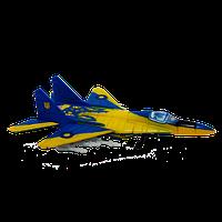Объемный пазл 4D Master - Истребитель МиГ-29 UA