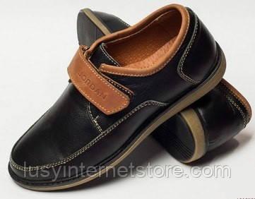 8387c201b Туфли детские на липучке для мальчика, детская обувь от производителя  модель ДЖ-3718