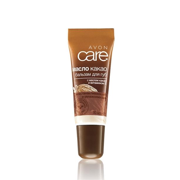 Восстанавливающий увлажняющий бальзам для губ с маслом какао и витамином Е Avon, Эйвон, Ейвон, 10 мл