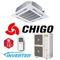 Кассетный кондиционер Chigo CCA-36HVR1/COU-36HDR1-A Inverter