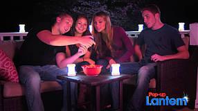 Набор из 4-х светильников Pop-up Lantern!Акция, фото 2