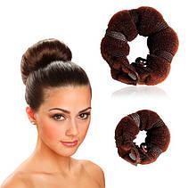 """Валики на кнопках для создания объёмной причёски """"Hot buns""""!Акция, фото 3"""