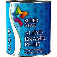 Эмаль ПФ-115 SUPER STAR №12 (белый глянцевый) - 2,8 кг