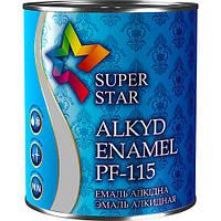 Эмаль алкидная ПФ-115, светло-серая, ТМ SUPER STAR / код цвета №16 / по 2,8 кг