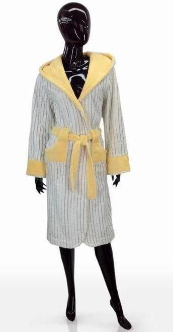 Красивый женский халат  M, S,  SOFT SHOW COLLECTION (СОФТ ШОУ КОЛЛЕКШН) SS1204-82