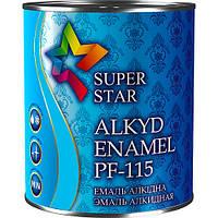 Эмаль алкидная ПФ-115, светло-голубая, ТМ SUPER STAR / код цвета №42 / по 2,8 кг