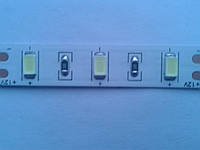 Светодиодная лента с чипом Epistar (Тайвань) Samsung 5630 макс яркости б\сил 12V (24w/m) белая холод