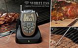 Бездротовий термометр (до 100 м) з щупом для приготування їжі CVMH-G353 (-10 до +250 °С) З ф-їй Будильник, фото 3