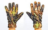 Перчатки спортивные теплые флисовые Realtree