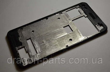 Передняя рамка  Nomi i5030 EVO X черная, оригинал, фото 2