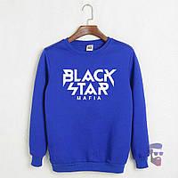 Свитшот мужской синий Black Star Блек Стар