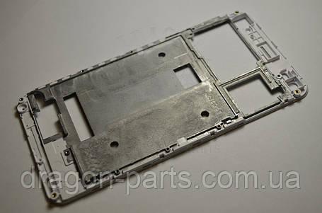 Передняя рамка  Nomi i5030 EVO X белая, оригинал, фото 2