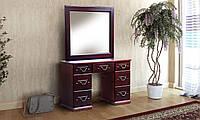 Туалетный стол двухтумбовый Милена, Елисеевская мебель