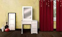 Туалетный стол двотумбовый Милена 2, Елисеевская мебель