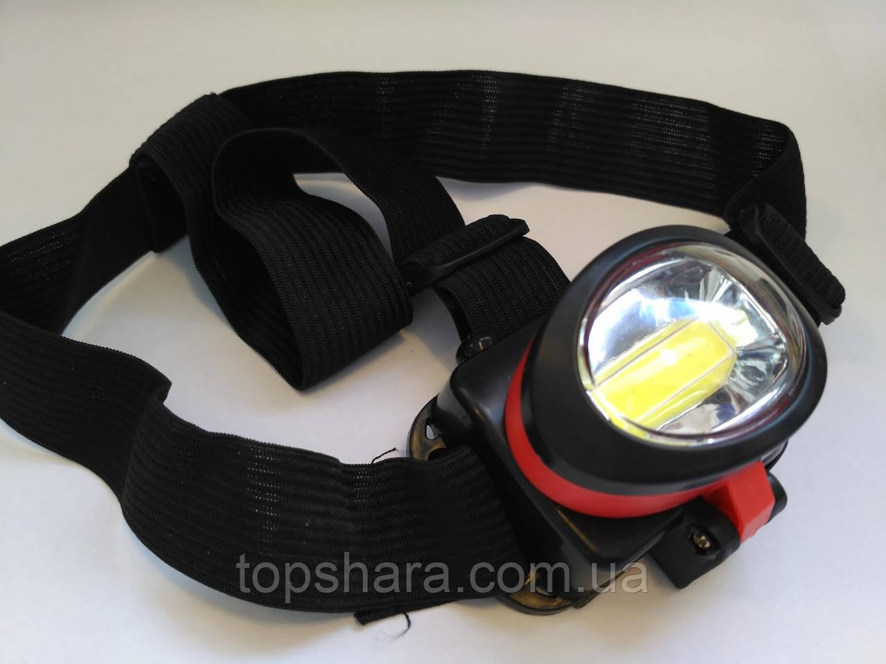 Налобный фонарь X-Bailong BL-539-COB! Led подсветка