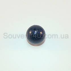 Бусина из синего авантюрина (D=8мм, 10шт/уп)