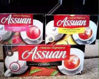 Чай черный, фруктовый Exspresowa Assuan , 100 пак, 40 пак