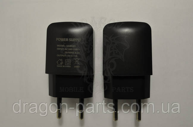 Сетевое зарядное устройство Nomi i5530 Space X Black ,оригинал, фото 2