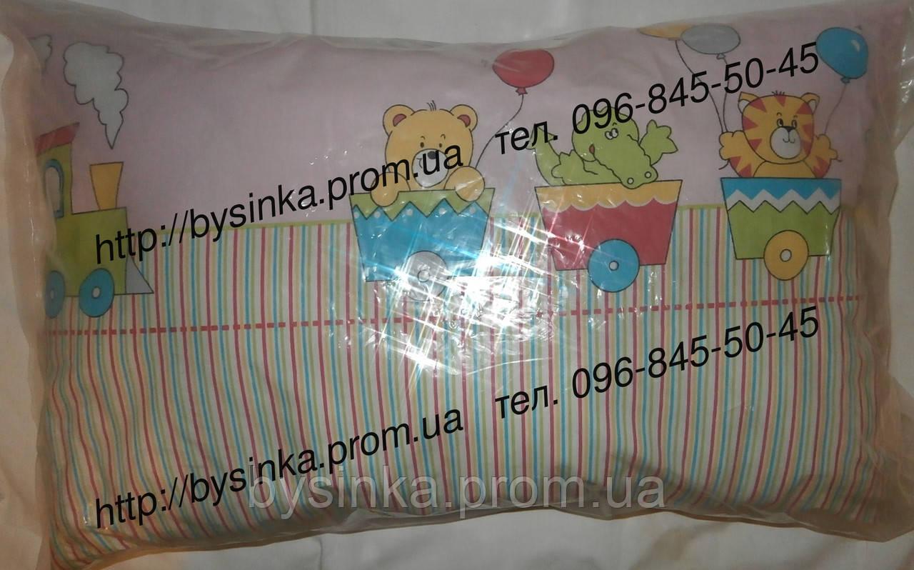 Подушка детская цветная 38*58 см