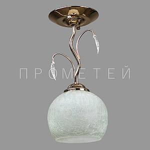 Люстра Припотолочная на одну лампочку P3-50015/1C/FG+WT