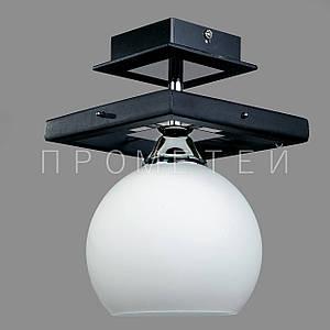 Припотолочная люстра на одну лампочку P3-91153/1C/DK+CR+MK