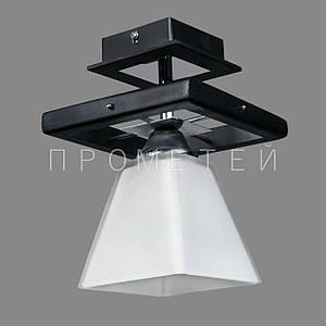 Припотолочная люстра на одну лампочку P3-91154/1C/DK+MK