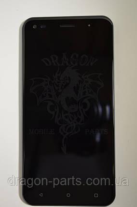 Дисплей (Экран) Nomi i5530 Space X с сенсором Black/Черный , оригинал, фото 2