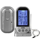 Бездротовий термометр (до 30 м) з щупом для приготування їжі YB414-SZ (0 до +250 °С) З ф-їй Будильник, фото 3