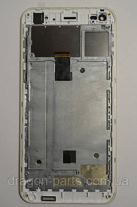 Дисплей (Экран) Nomi i5530 Space X с сенсором Gold/Золотой , оригинал, фото 2