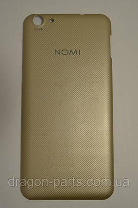 Задняя крышка  Nomi i5530 Space X Золотая, оригинал, фото 2
