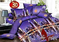 Семейный комплект постельного белья 3D XHY674