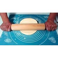 Коврик силиконовый 40*50 для раскатки и выпечки с разметкой, фото 1