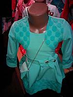 Платье детское с сумочкой в комплекте